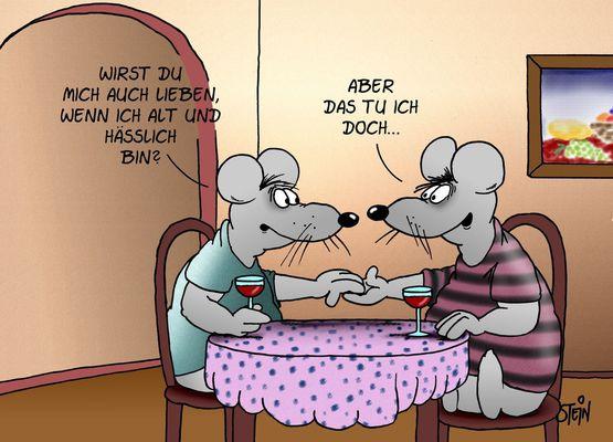 comic hochzeitstag: lustige cartoon postkarten ich habe heute, Garten und Bauen