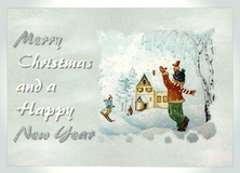 Merry Christmas and a Happy New Year - Weihnachten