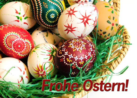 Frohe Ostern - danzer