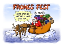 Frohes Fest - Navigation - Winter