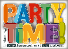 Party Time! - Wir feiern - Modern Art