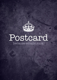 Postcard (because emails suck!) - Geburtstag