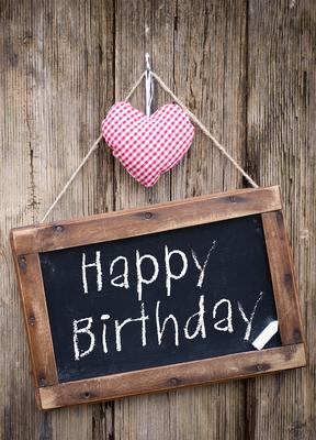 happy birthday - liebe / herzen
