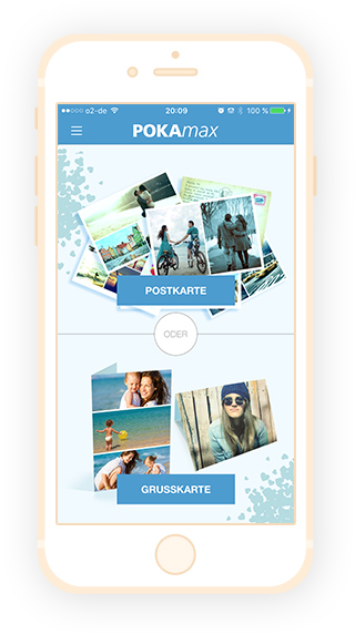postkarten app f r iphone android und windowsphone pokamax. Black Bedroom Furniture Sets. Home Design Ideas